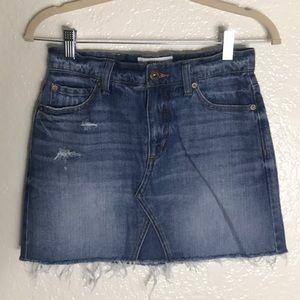 Pistola Denim Mini Skirt